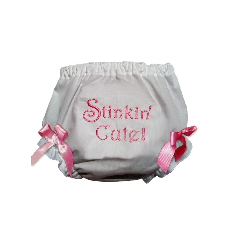 baby bloomers gt stinkin cute pink baby bloomers