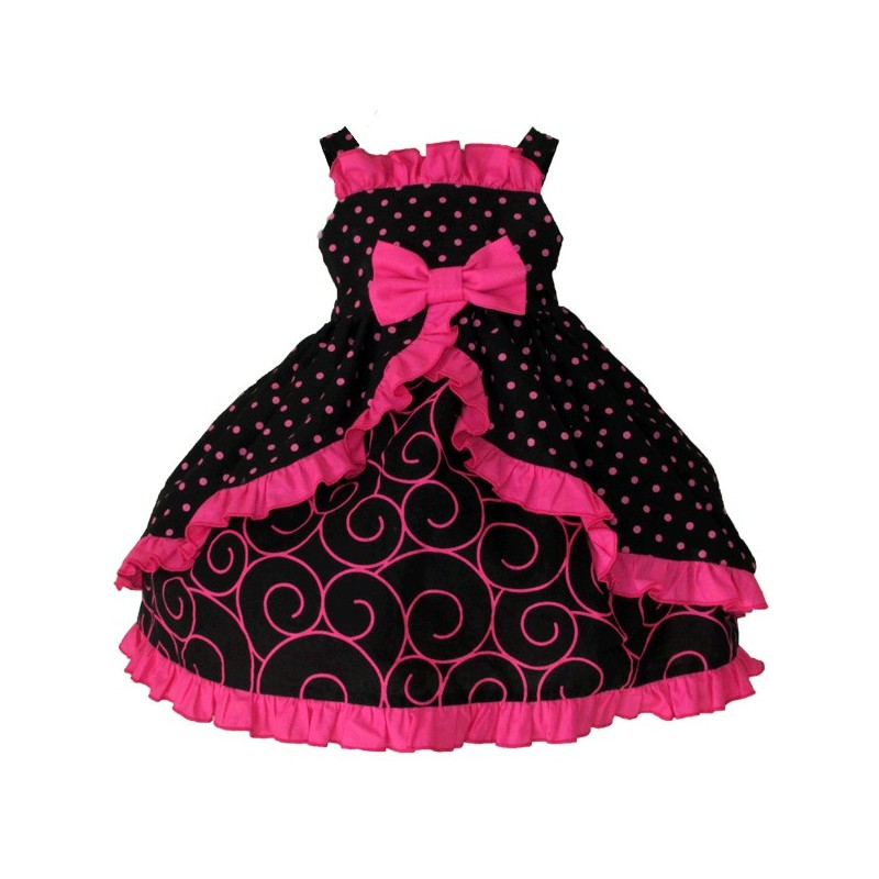 Cutest Ruffled Baby Party Dress Ever - Lucky Skunks Baby-Toddler ...