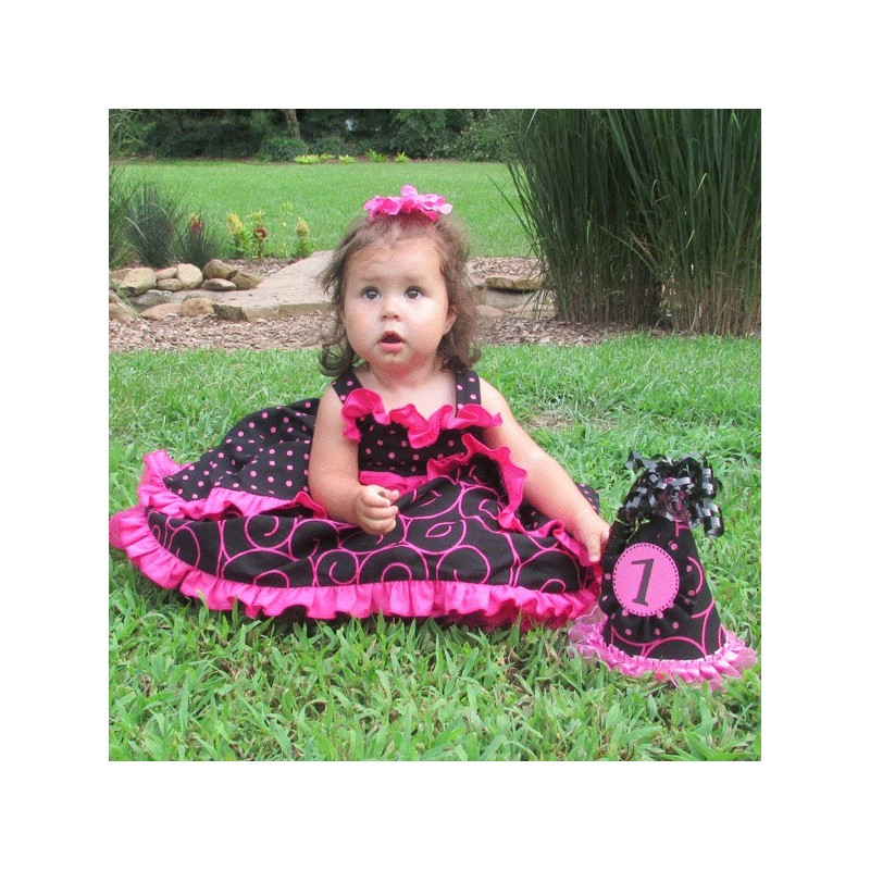 cutest ruffled baby  u0026 toddler birthday dress ever