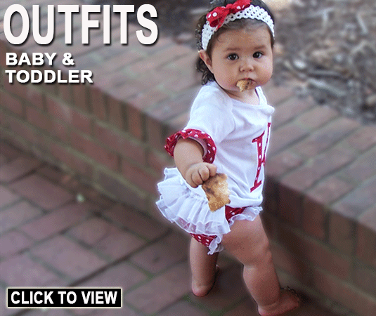 The Cutest Baby & Toddler Outifts