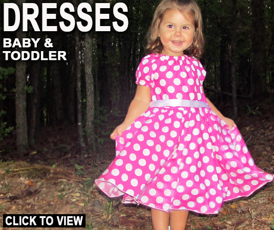 The Cutest Baby & Toddler Dresses